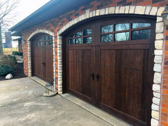Work preformed by Fehrmann Garage Doors, Inc.
